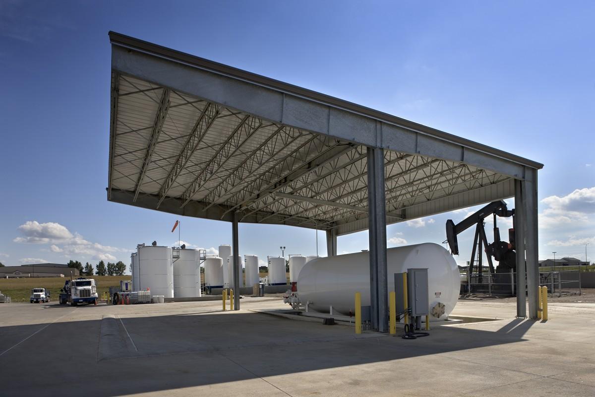 ... acid blending and storage indoor u0026 outdoor chemical storage cement mixing and storage radioactive calibration gun loading and explosives storage ... & Oilfield Services Regional Base | Dickinson North Dakota | Energy ...